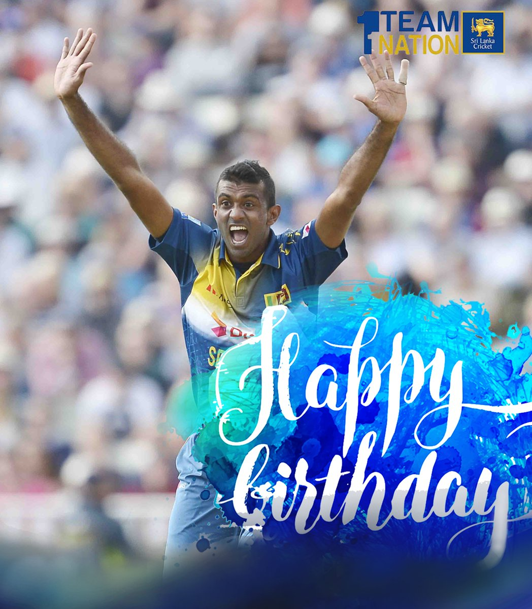 Happy Birthday to fast-bowling all rounder @farveezmaharoof https://t....