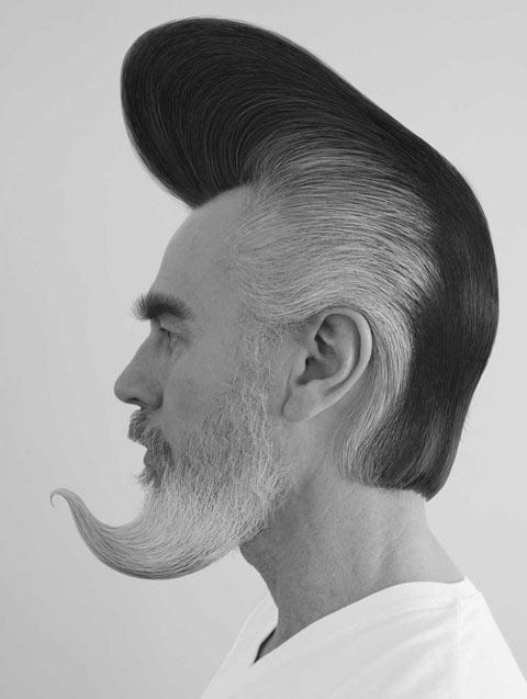 Men only hair