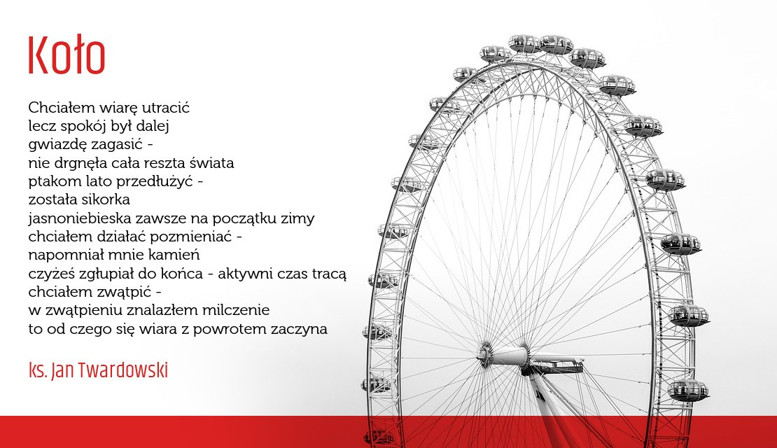 Twardowskipoezjaeu в Twitter Koło Kolo Wiersz Poezja