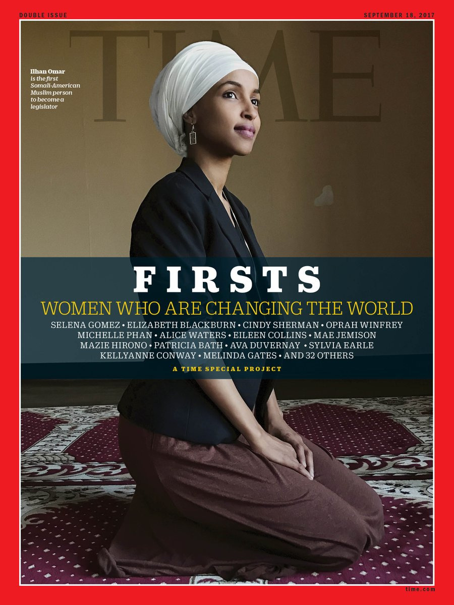 Ilhan Omar is the first Somali-American Muslim woman to become a legislator #SheIsTheFirst https://t.co/VAszMCZ5jz