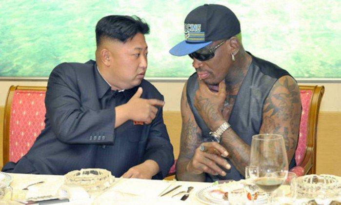 Ex-astro da NBA, Dennis Rodman se oferece para resolver diferenças entre Trump e Kim Jong-un https://t.co/HWcOHBkgAx