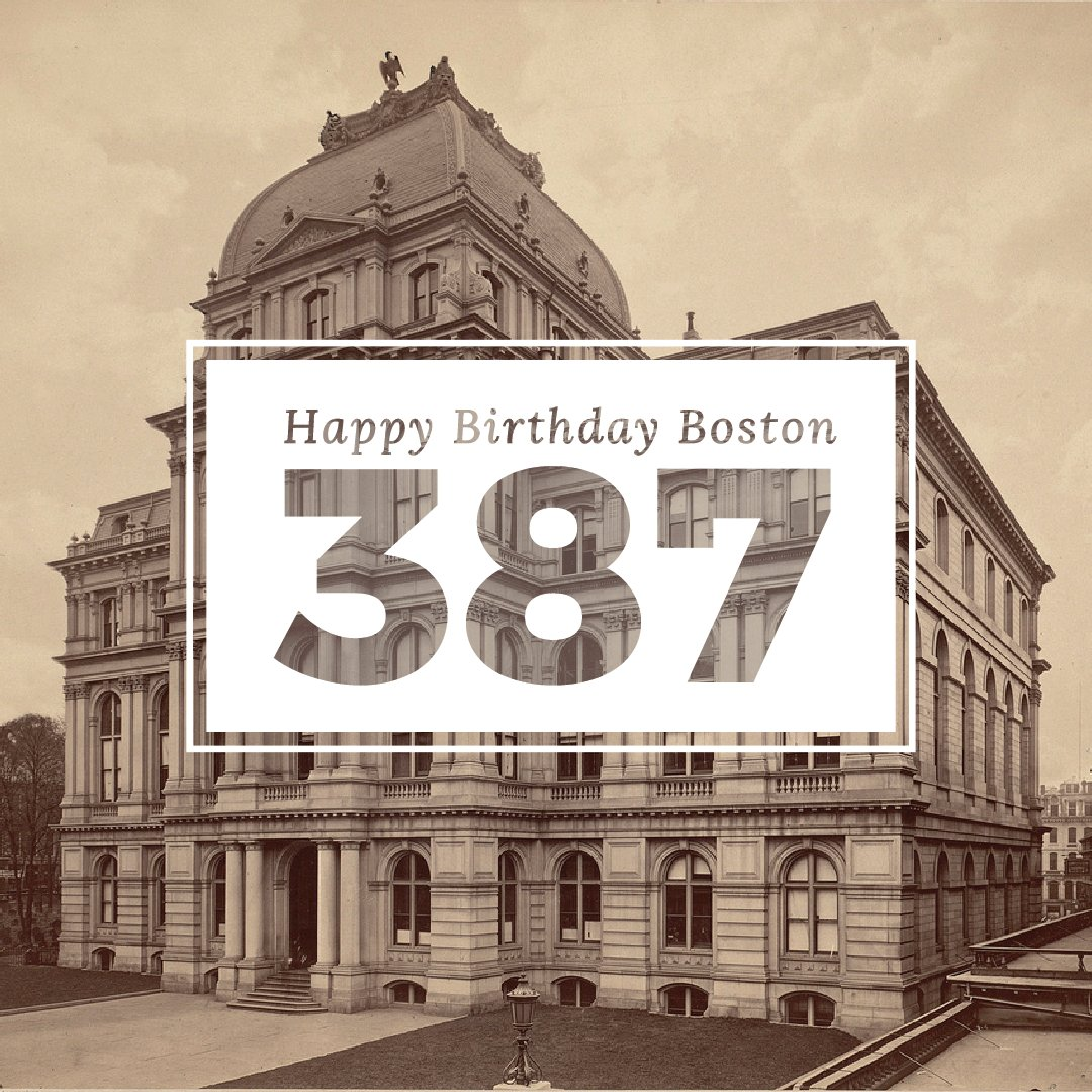 Happy Birthday, Boston! Looking good for 387. https://t.co/y8kww2cfaD