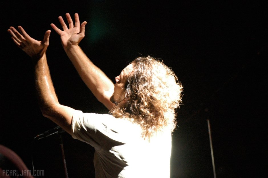 'Won't let the light escape from me.' #Down #PearlJam