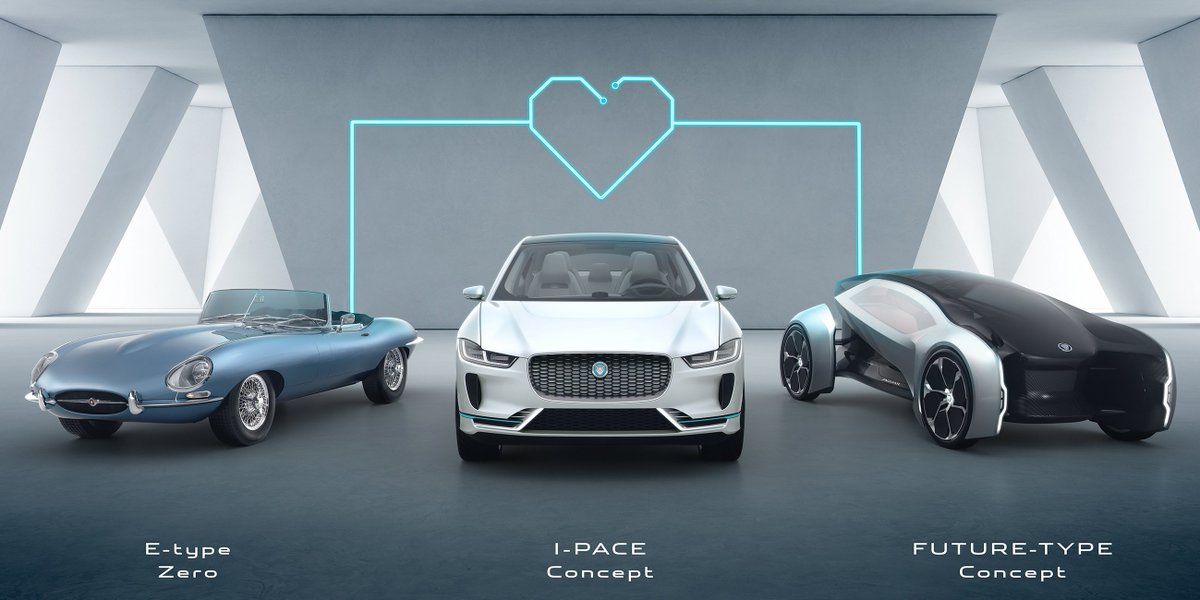 From 2020 all new Jaguar and Land Rover vehicles will be electrified. #JLRTechFest: https://t.co/ICzQrtcICG https://t.co/t2JToo0Yhb