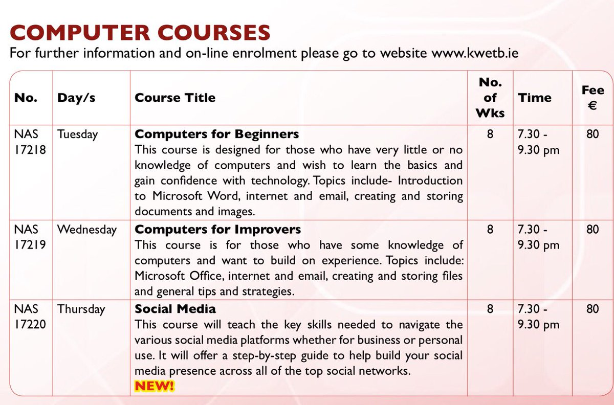 online college classes