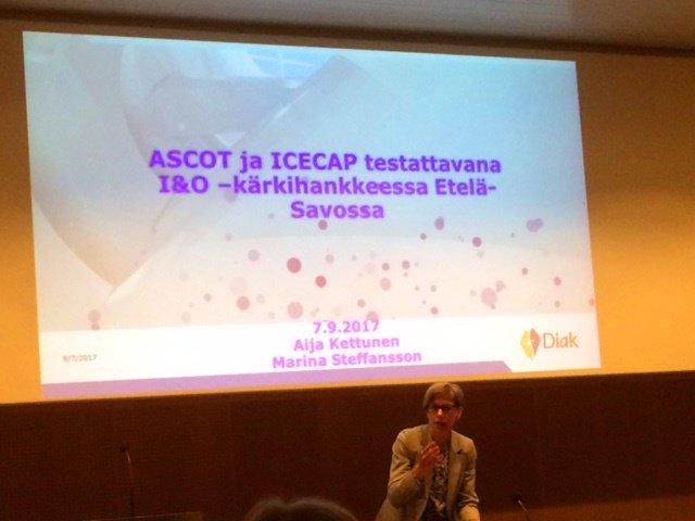 Euroopan sosiaalirahaston (ESR) rahoittaman projektin kuvaus