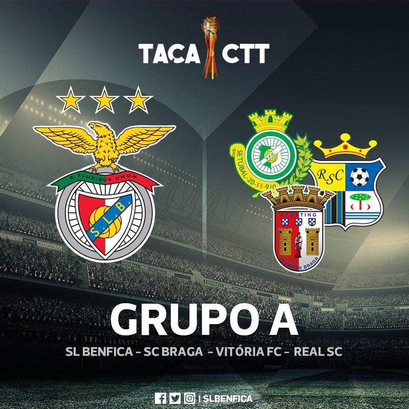 O Benfica já conhece os adversários na 3.ª Fase da #TaçadaLiga.