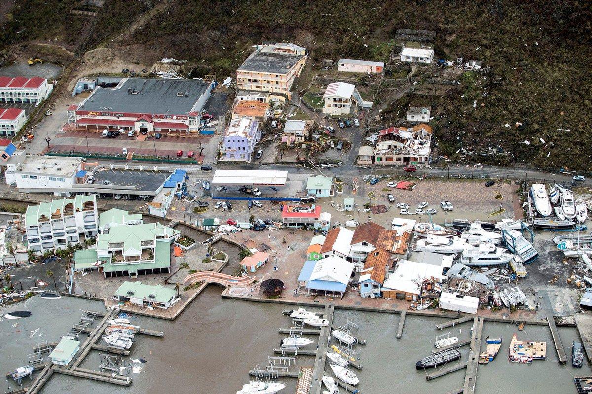 Resultado de imagem para Furacão Irma atinge Caribe