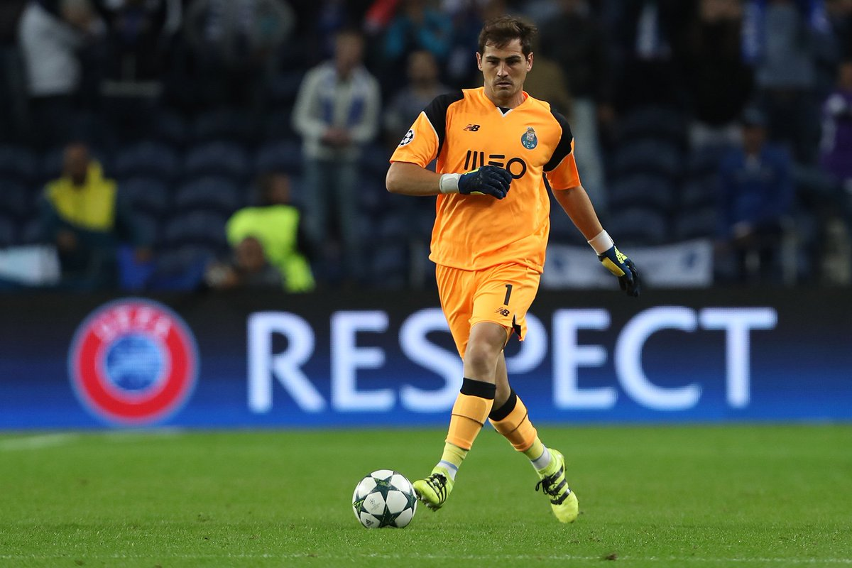 4a58bc3c42e Three-time winner   porto no1 iker casillas is set for his 19th season in  the  ucl... favourite moment  🏆🏆🏆 - scoopnest.com