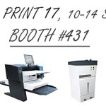 Image for the Tweet beginning: This year at PRINT17 in
