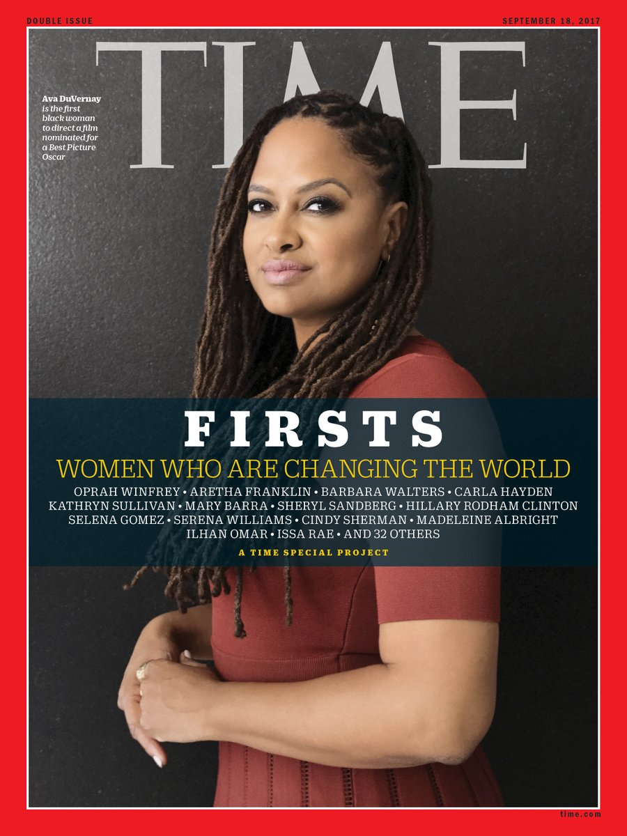 Ava DuVernay is the first black woman to direct a film nominated for a Best Picture Oscar #SheIsTheFirst https://t.co/JThC5Rzsea