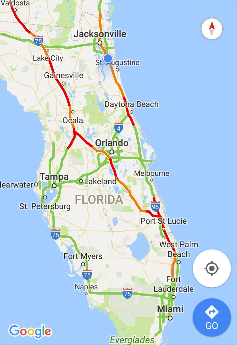 kevin clark on twitter google maps showing traffic on i and i inparts of our area irma actionnewsjax httpstcohqlaqaat. kevin clark on twitter google maps showing traffic on i and i