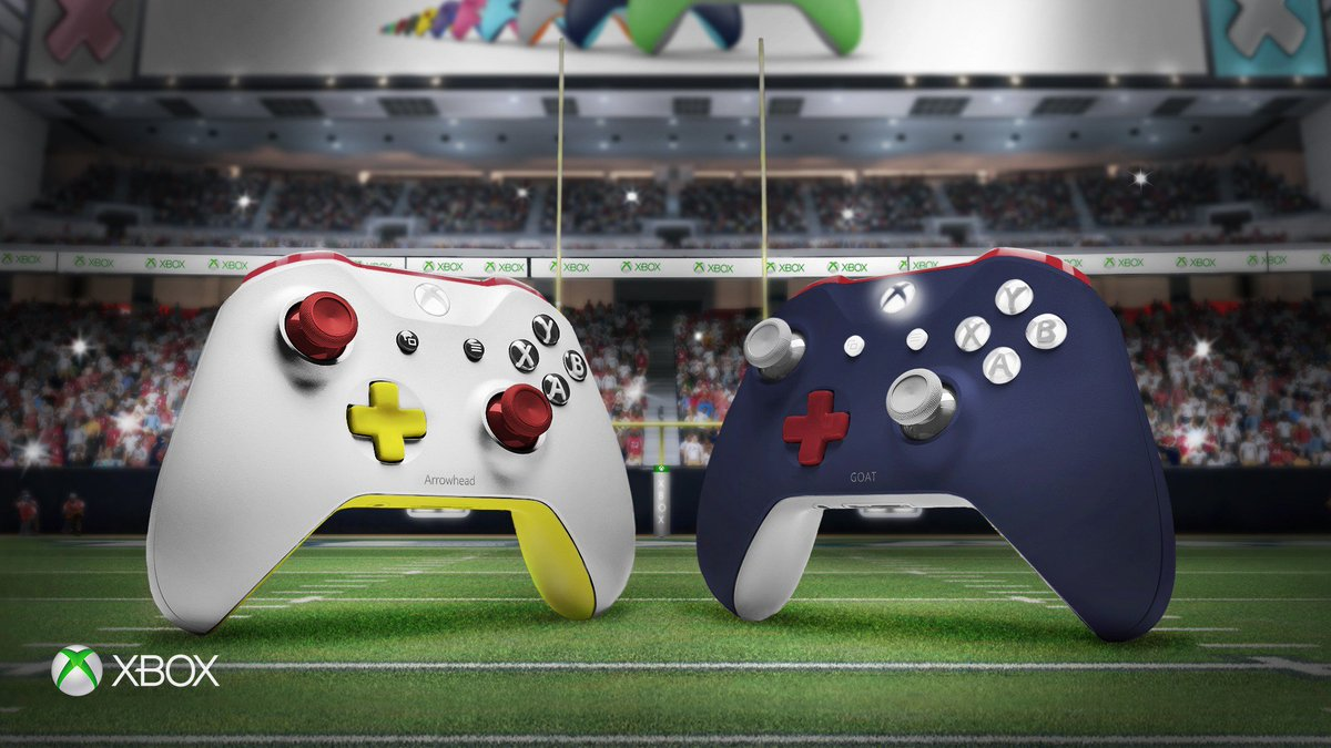 What colors are you sporting? #KCvsNE #XboxDesignLab #NFLKickoff