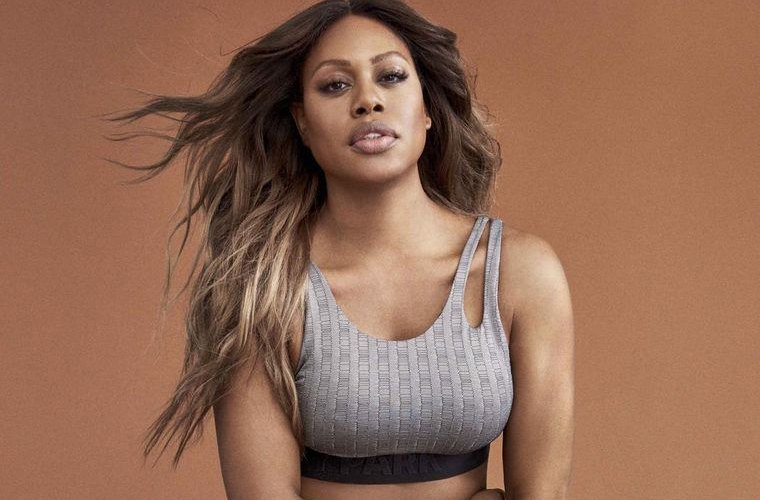 Photos Laverne Cox models for Beyonce's Ivy Park