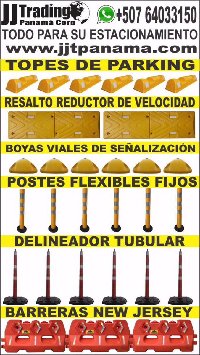 WhatsApp +50764033150 #parking #parking507 #prevencion #reductores #topes #postes #boya #ph<br>http://pic.twitter.com/DK8lBDLFwV