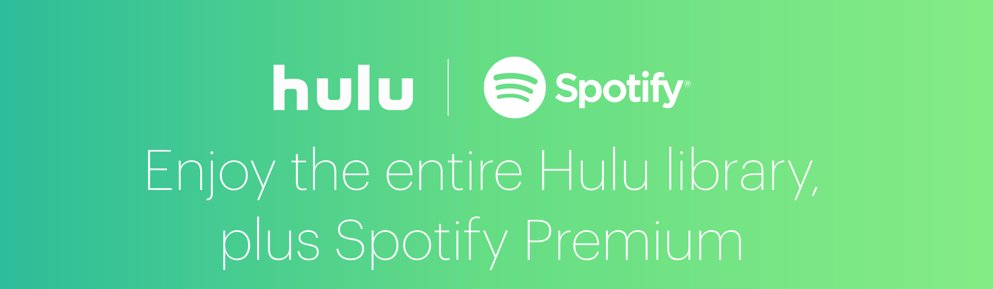 Student discount for Hulu and Spotify Premium