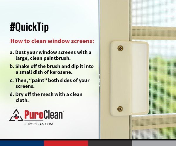 It S Time For A New Cleaning Tip Again Check Out How To Clean Window Screens Pic Twitter X64etczwjf