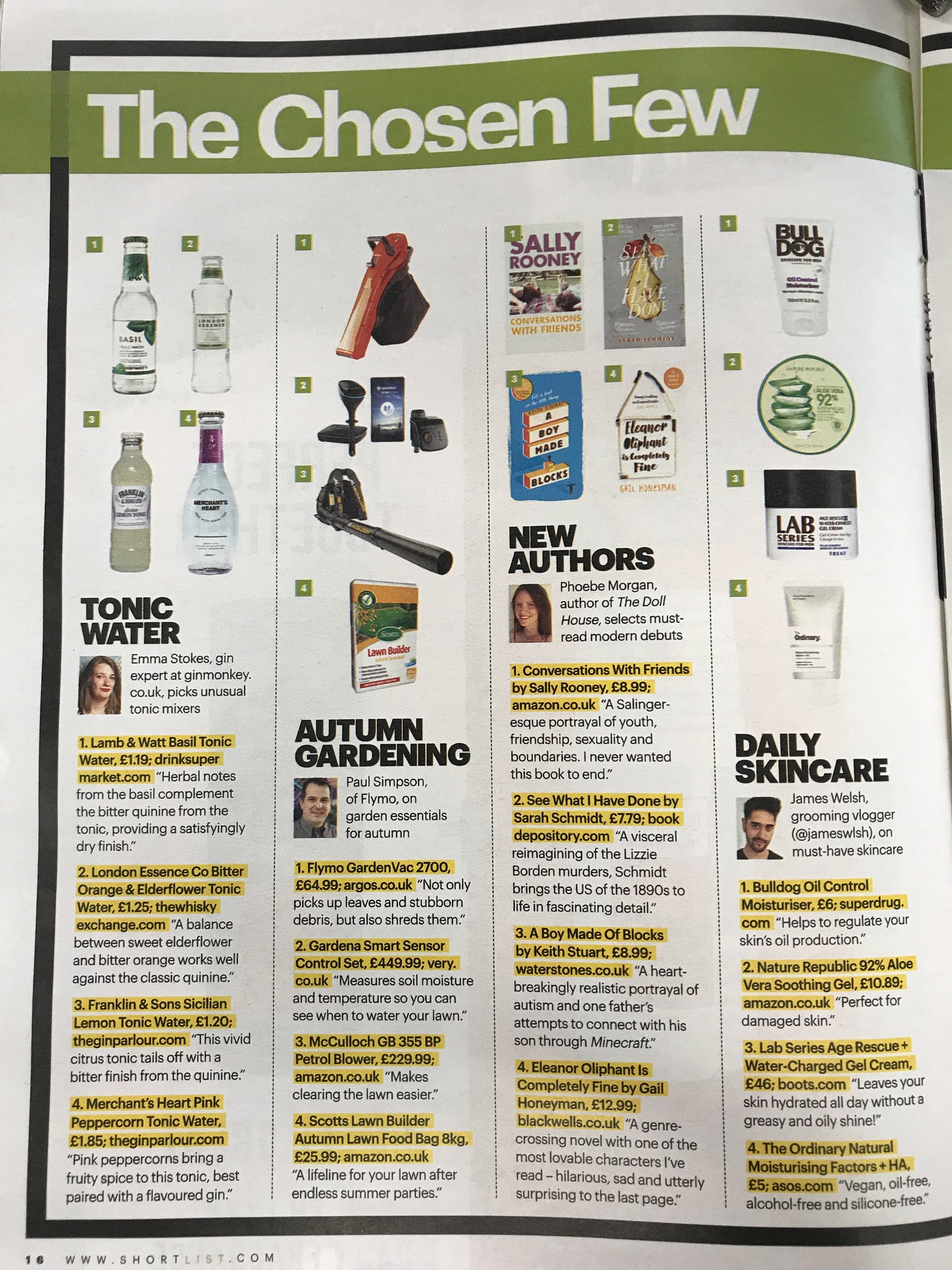 Gin Monkey On Twitter Did You Spot Me In Shortlist Talking Alcohol Still Diagram It Helps If Can Read Flavoured Tonics This Morning