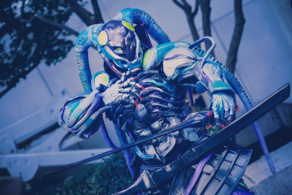 F Secure Tenshimitsu On Twitter Awesome Cosplay By 137cosplay 一騎当千 Tekken7 Yoshimitsu Cosplay Harada Tekken Tekken