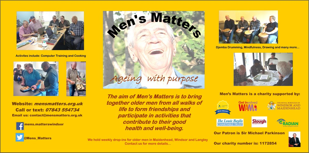 For older men