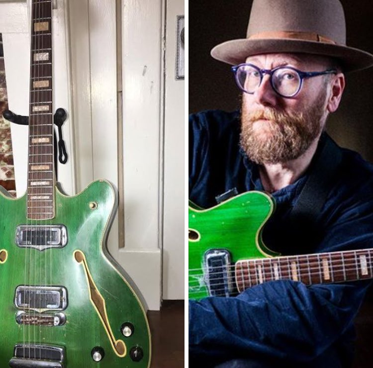 I got robbed last night. They took my green guitar. If you see it, please DM. https://t.co/jwW1jXCMAu