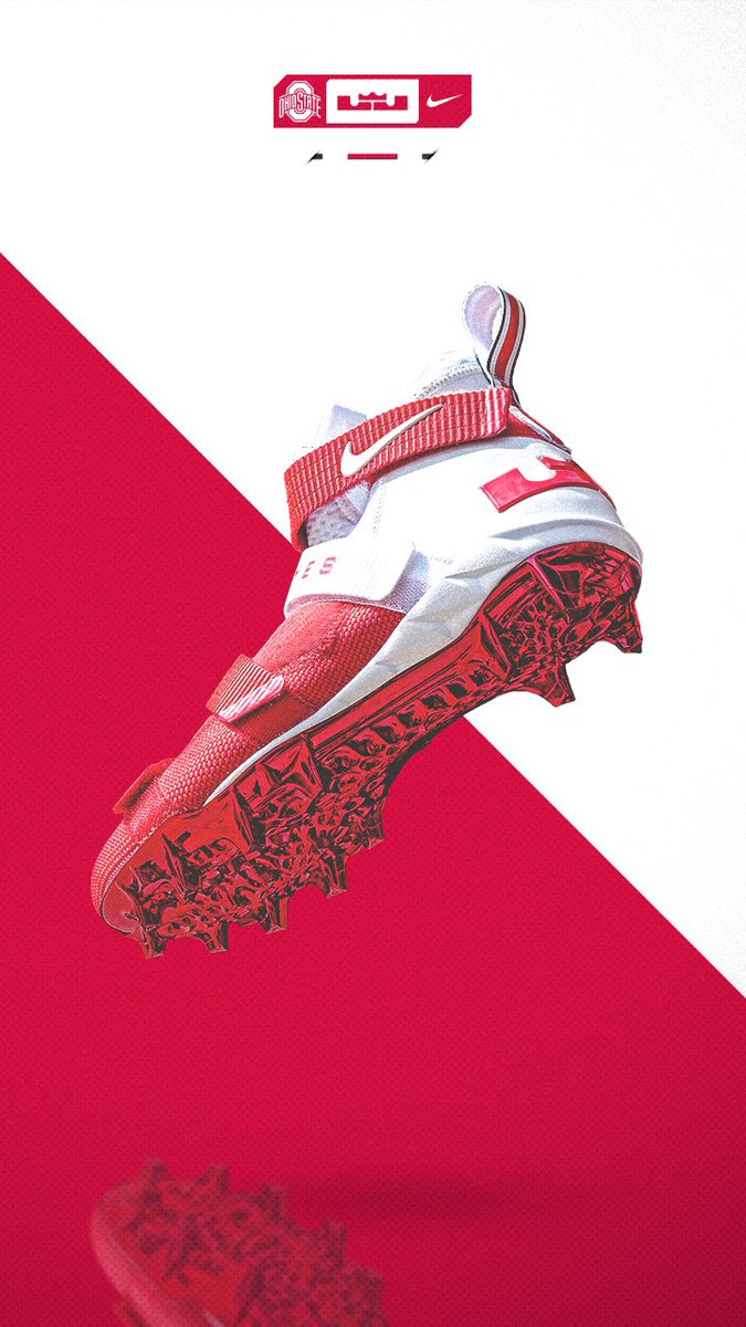 timeless design 205cb 6317c Introducing the LeBron Soldier XI cleat.  Nike x  KingJames On field Sat.  7 30P ET ABC  GoBucks  BeatOklahomapic.twitter.com OjsfjEwY5G