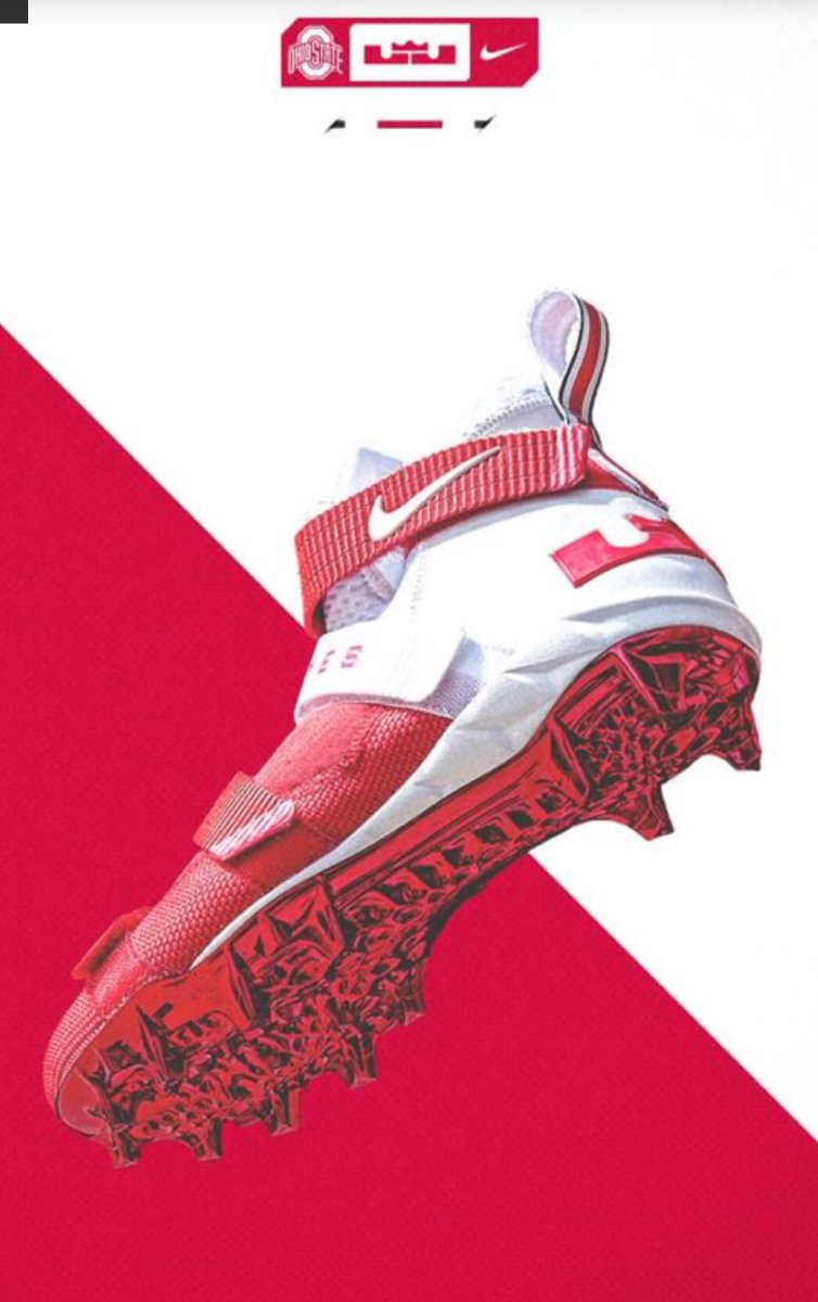 ohio state confirms they ll be wearing lebron cleats this weekend bd57b8492