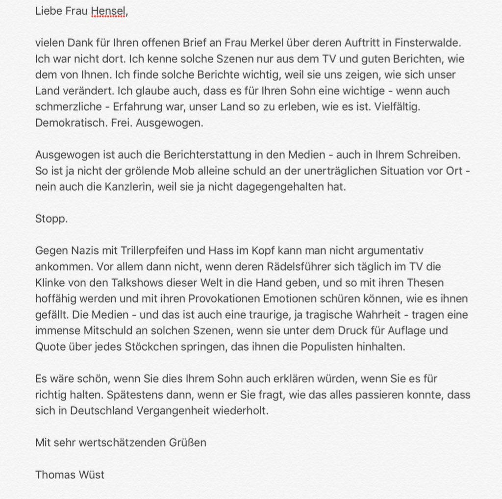 Jana Hensel On Twitter Gestern Wurde Angela Merkel Im Osten Wieder