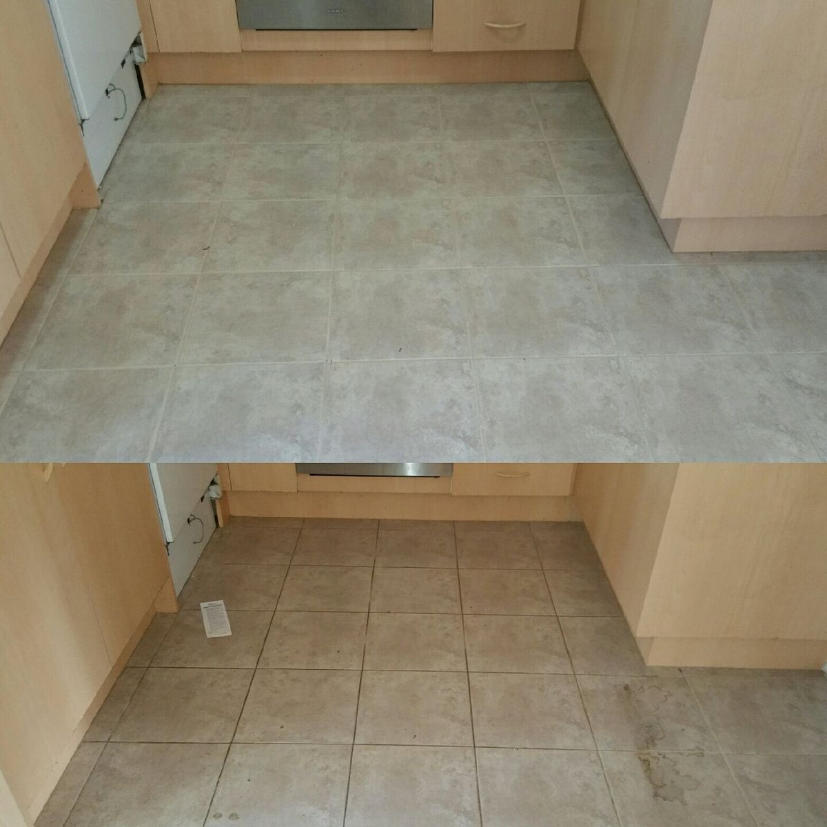 This was for a exit #tileandgrout  clean and came up #Perfect with @OHHCS1. #FlashbackFriday #professionalcleaning #followusontwitter <br>http://pic.twitter.com/aHjYShJI1k
