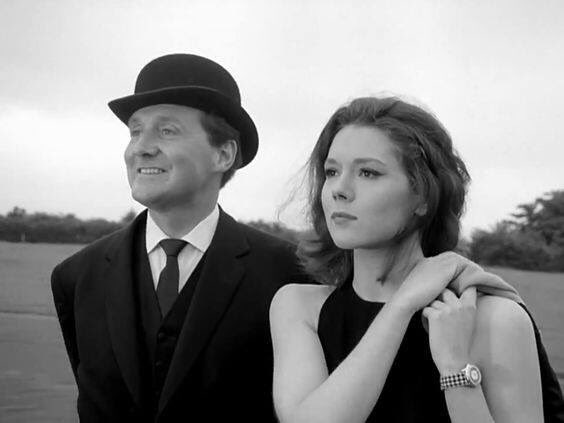 #PatrickMacNee #DianaRigg in The Avengers 1961-1969. Classic #British television. #We&#39;reNeedesMrsPeel<br>http://pic.twitter.com/cEq5gwpi2x