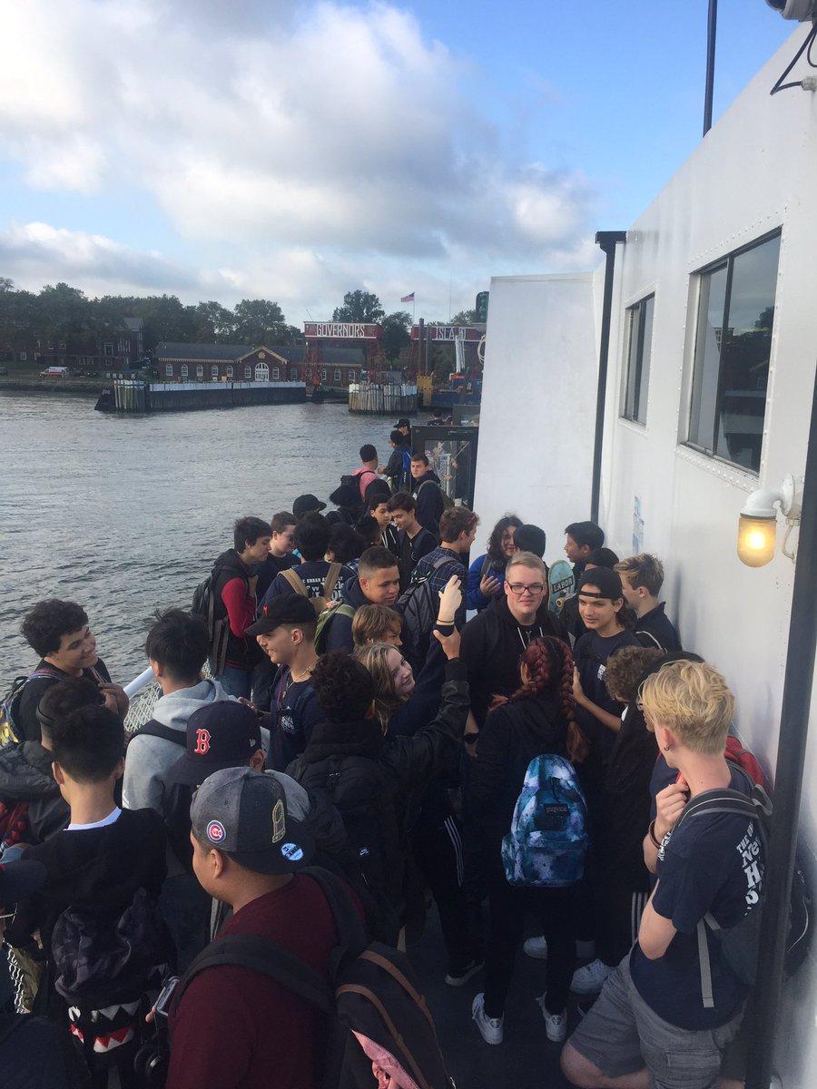 Harbor School On Twitter Harborschool Students Taking The Ferry