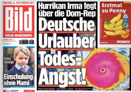 Okay, da sind schon Einheimische ums Leben gekommen oder haben alles verloren, aber Deutsche Urlauber HABEN ANGST!!! @BILD