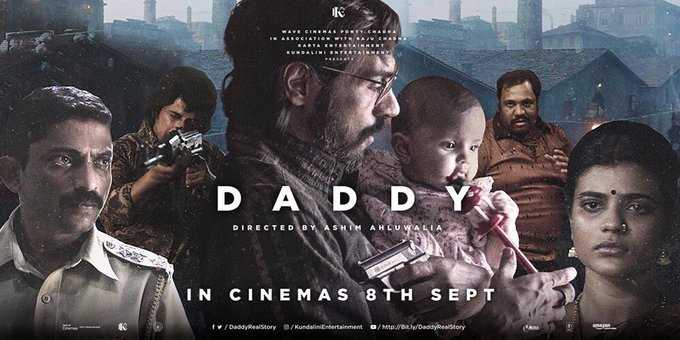 Finally d day has come #Daddy is here for u ... watch it only in theatres 🤞🤞🤞 https://t.co/TKup3aJ7ZN