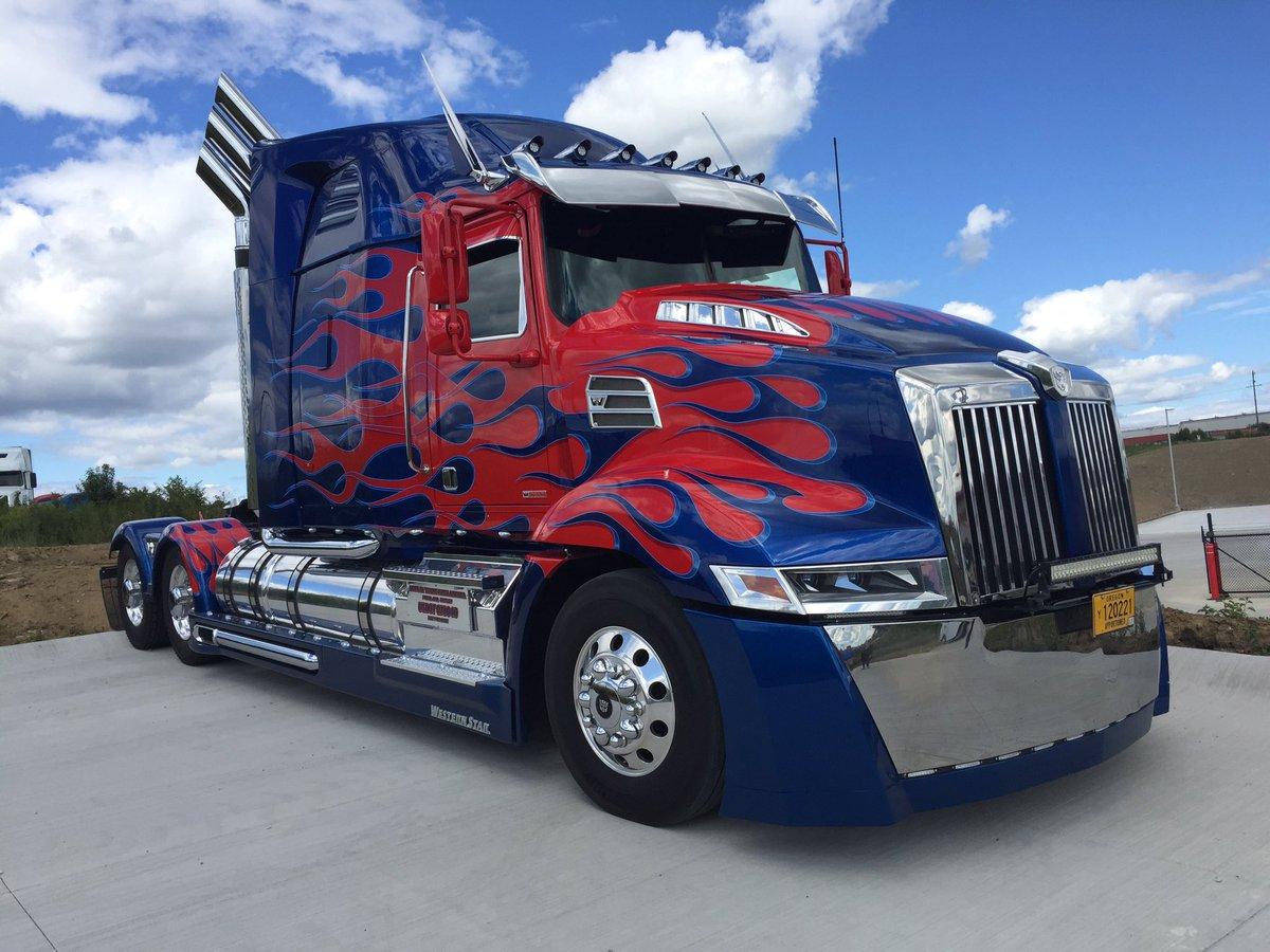 optimusprime transformers westrnstar grandopening tomorrow in walton ky 11095 dixie hwy customerappreciation trucking truckspic twitter com