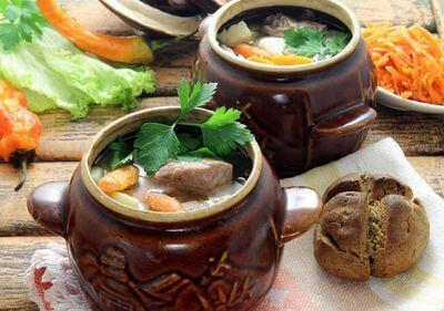 Рецепт овощного рагу с картошкой и мясом
