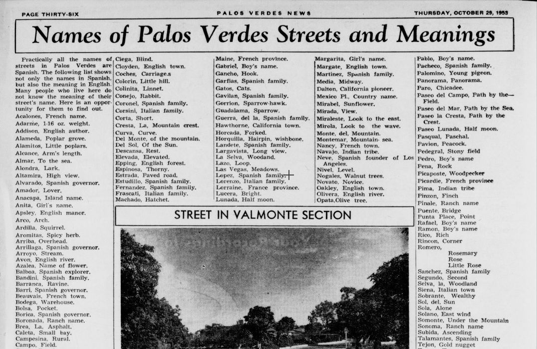 Names in spanish trader