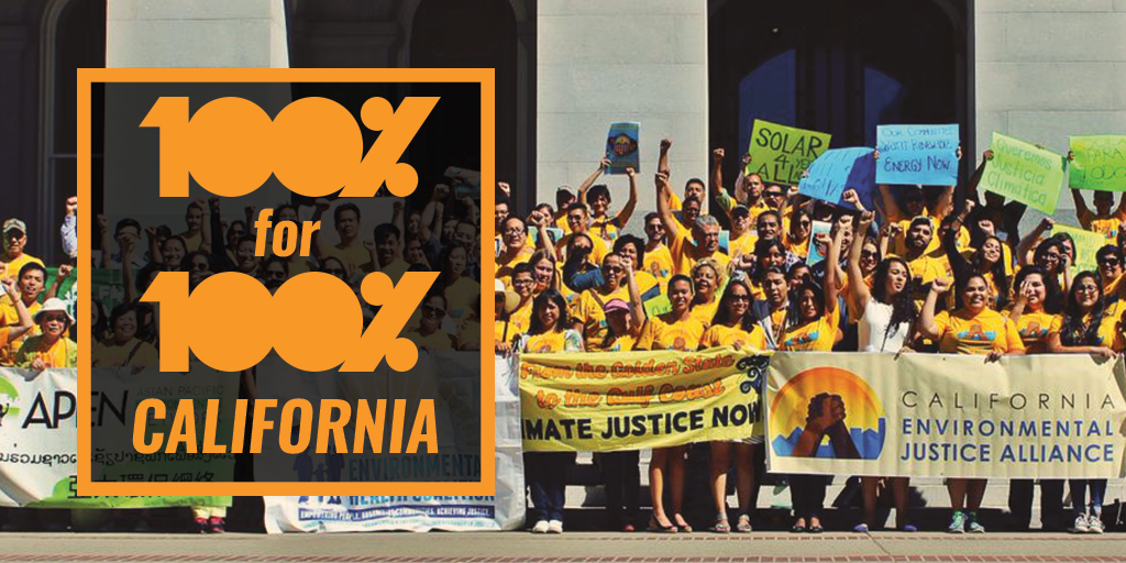 RT @MarkRuffalo: .@kdeleon Stay strong & keep it clean. Let's make history together & go 100% for CA w/ #SB100 https://t.co/Kkws8dk8X3