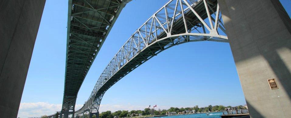 Bluewater Bridge Exchange Rate