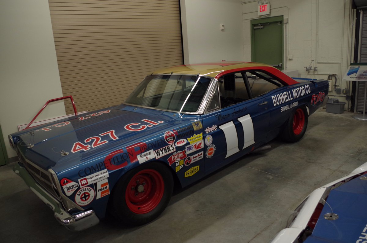 Holman Moody Ford '67 Fairlane number 11, driven by Mario Andretti #NASCAR #ThrowbackThursday https://t.co/KLdM38MqUt