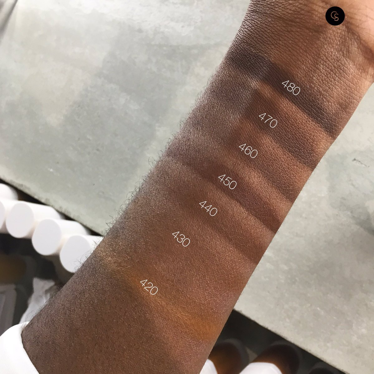 Cocoaswatches On Twitter Quick Dirty Swatches Of Fentybeauty Foundation Look At That Shade Range Https T Co G1krqcbi2k