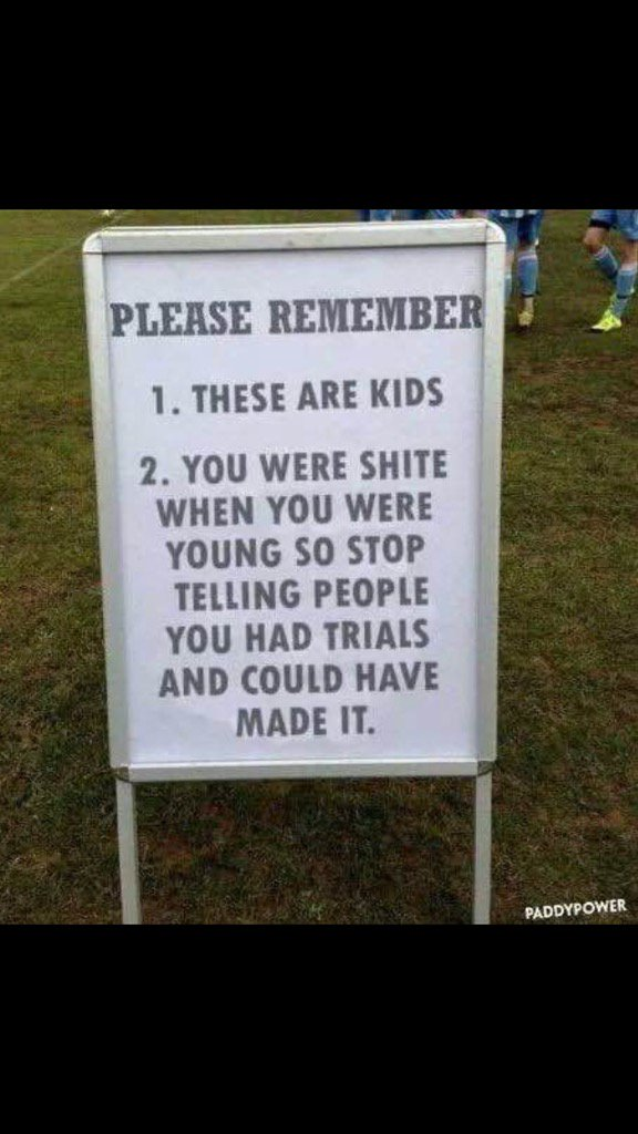 Something to bear in mind as you hurdle the respect barrier to abuse the referee this weekend..... https://t.co/me2kEzu8EP
