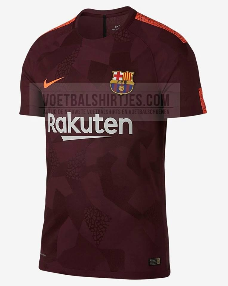 ed694000a Yükle (764x960)FC Barcelona Third Shirt 2017-18 Leaked The KitmanThe 2017-18  FC Barcelona third kit will is based on Nike s global.