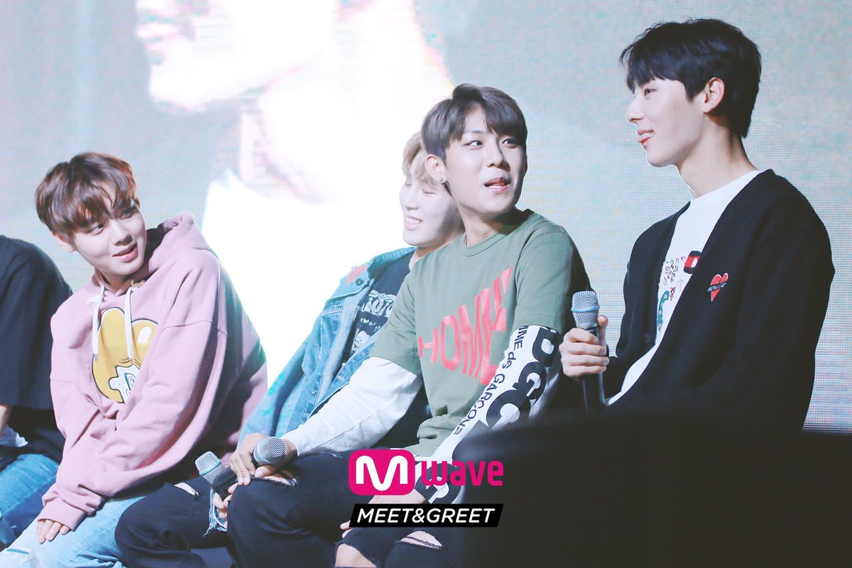 Wannaoneupdate on twitter pic mwave meet and greet 4 kristyandbryce Image collections