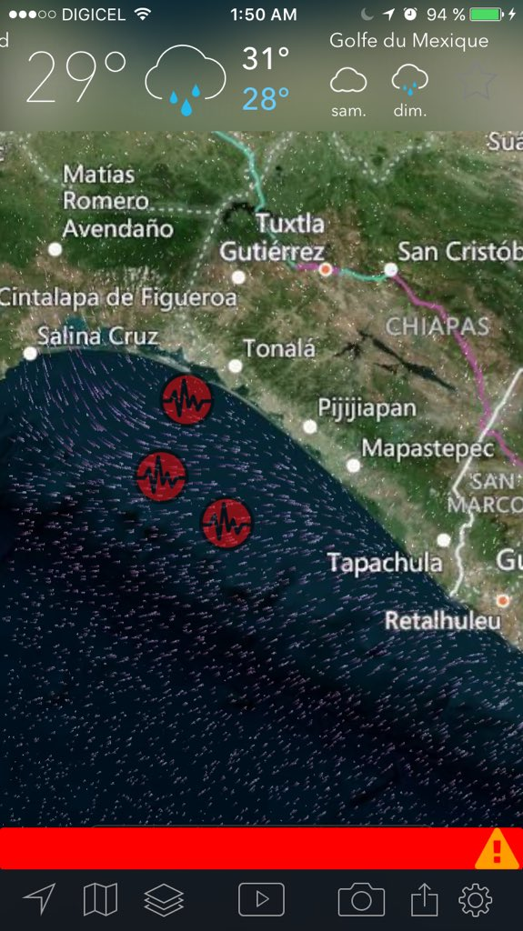 "CNN ar Twitter ""Magnitude 8 0 earthquake hits off the coast of"