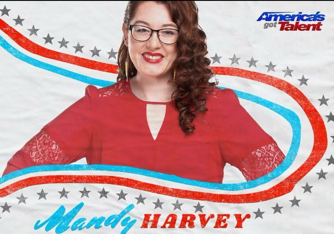 #MandyHarvey what an inspiration! She lost her hearing at 18yrs&instead of giving up singing she came on #AmericasgotTalent with song #Try https://t.co/yyrKSm2fEm