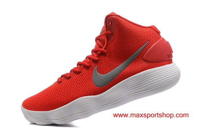 Nike Hyperdunk 2017 University Red Grey Whitepic.twitter.com W7m4s45H6O d3e78e828
