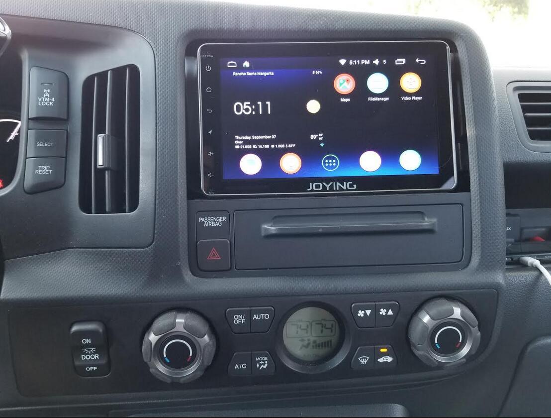 Install Joying 8 Double Din Stereo In 2017 Honda Ridgeline Best Android Navigation The Marketpic Twitter Anrkhm16yr