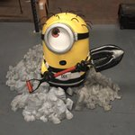 #minions have arrived in our warehouse for upcoming events #FridayFeeling #FridayFun