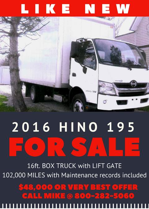 Clarko Bingo Truck For Sale Ad