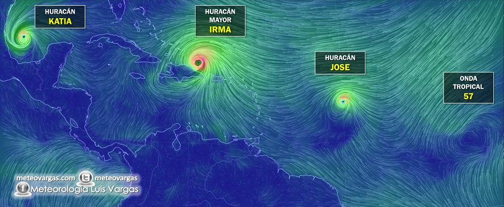 Tres huracanes en El Atlántico, una tormenta geomagnética severa y ahora un terremoto en México https://t.co/9me0QoKvS3
